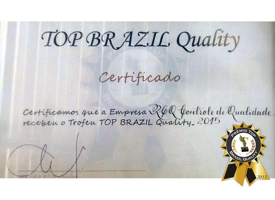 Prêmio Top of Brazil Quality 2015