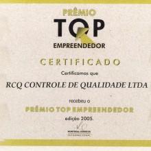 Prêmio Top Empreendedor 2005