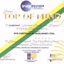 Top of Mind 2005/2006