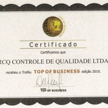 Top of Business 2010