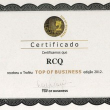 Top of Business 2012